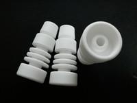 ingrosso cap-chiodo ceramico di ceramica senza cappuccio del tappo del carb di ceramica per il tubo di vetro di vetro dell'atomizzatore dell'acqua di vetro inoltre offriamo il chiodo del chiodo del chiodo del chiodo del titanio chiodo smerigliatrice dell'erba