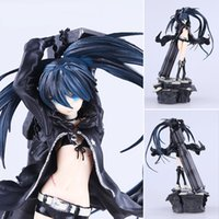 Wholesale Big Toy Garage - Black Rock Shooter Action Figure Mato Kuroi Doll 1 8 scale painted figure BRS Black rock shooter PVC ACGN figure Toys Garage Kit Brinquedos