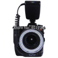 Wholesale Yongnuo Led Macro Ring Flash - 48 LED 15GN Camera Macro Ring Flash Light for Sony Alpha a290 a300 a350 a500 a580 a700 a750 a850 a900 a33 a37