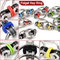Wholesale Toy Beer Bottles - Fidget Spinner Key Ring Toys Anti Anxiety Hand tri spinners Dragon EDC beer bottle Toy For Decompression Anxiety Toys