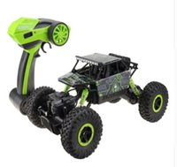 RC Auto 4WD 2.4 GHz Rock Crawlers Rally arrampicata Auto 4x4 Doppi motori Bigfoot Car Remote Control Modello Off-Road Vehicle Toy