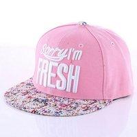 Wholesale Cap Sorry Im Fresh - New arrival 2016 High quality Sorry Im Fresh cap bone aba reta Snapback hat napback hat adjustable skateboard baseball cap