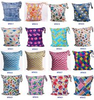 Wet Dry owl cloth diapers - Newborn Waterproof Zippered Wet Dry Bag Laundry Owl Wet Dry Cloth Diaper Bags Wet Swimsuit Bag Animal Printed by Melee WetBag cm