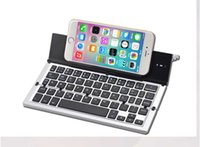 Venda Por Atacado New Arrival Mini Keyboard 3.0 Folding Foldable Bluetooth Keyboards para Apple iPhone / iPad Pro / MacBook IOS Android Phone Tablet PC