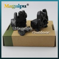 Wholesale Back Up Sights - Gen 2 Back-up Sight Front And Rear Folding Sights For Airsoft 20mm Tan and Black