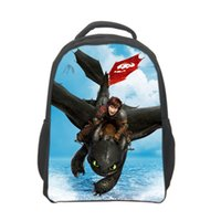 How to Train Your Dragon School Borse come addestrare il vostro zaini Dragon School Cartoon zaini borsa 3D zainetto per il tempo libero per ChildrenH0632a