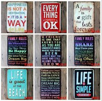 Wholesale Tin Wall Art Wholesale - 2015 20*30cm classic warmly sweet notice poster Tin Sign Coffee Shop Bar Restaurant Wall Art decoration Bar Metal Paintings