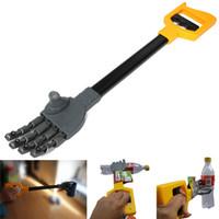 ingrosso giocattolo di robot di qualità-Plastica di alta qualità Robot Artiglio Mano Grabber Grabbing Stick Kid Boy Toy Move And Grab Cose Robot fai da te