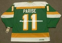 ingrosso personalizzato Throwback Mens J.P. PARISE Minnesota North Stars 1978 CCM Vintage Throwback Cheap Retro Hockey Jersey