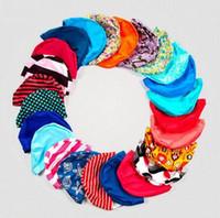 Wholesale Turban Swim Hats - Mixed colors Ladies Womens Swimming Hat Swim Bathing Turban woman Shower Swimming Caps