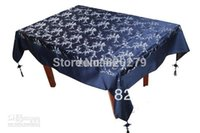 Wholesale Luxury Damask Printed Tablecloth Rectangle Dining Decorative High End Table Cover multicolor option L x W m Free