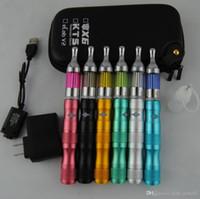 démarreur de clearomizer protank achat en gros de-X6 Starter Kits Cigarettes Électroniques eGo Tension Variable 1300mah Batterie Protank Vaporisateur Clearomizer Atomiseur vape stylo Zipper Case Kit
