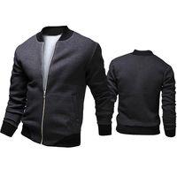hombres de moda veste al por mayor-Otoño-2015 Moda Marca Casual Bomber Jacket Hombres Abrigos Al Aire Libre Veste Homme jaqueta Moleton Masculina Chaqueta Hombre Casaco A90