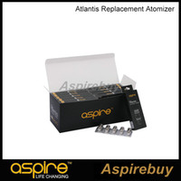 Wholesale Bottom Replacement Coil - Genuine Aspire Atlantis Bottom Vertical Replacement Coil 0.3 0.5 1.0 ohm SUB OHM Aspire BVC Coil For Aspire Atlantis 1.0 2.0 And Mega