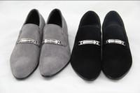 Wholesale Low Heel Dress Shoes Wedding - NEW classic Men's wedding shoes Mens leather shoes Unique men casual shoes 35p
