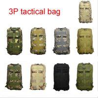 Wholesale Big Military Backpack - 30L Camping Bags Men Outdoor Waterproof Bagpack Military Oxford cloth 3P Tactical Backpack Women Big Assault Travel Bag Outdoor Bag