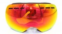 Wholesale Men Snowboard Set - Professional Ski Goggles Men Women Anti-fog 2 Lens UV400 Adult Winter Skiing Eyewear Snowboard Snow Goggles Set Full color