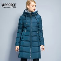 Wholesale Xs Model Hot - Wholesale- Miegofce Thickening Cotton Padded Female Jackets Windproof Women Parkas Neck With Hood Winter Coat Cotton Hot Winter Model 2017