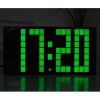 Wholesale New Arrival Led Big Large Jumbo Led Digital Alarm Countdown Thermometer Date Time Wall Table Alarms Snooze World Clock Young