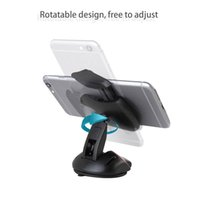 Wholesale Car Mice Control - Transformative Mouse Folding Bracket Universal Car Phone Smartphone Holder Stand 4-6.5 inch with Suction Cup Rotatable One Click Control
