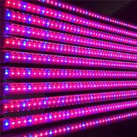 Wholesale Hydroponics Grow Systems - T8 LED Grow Tube 4ft 1.2M 12.7W 18W Good Yield Plant Grow Reasonable Proportion of Red and Blue for Indoor Plant Growth Hydroponics System