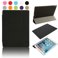 Wholesale Original Smart Case For Ipad - Pure Color Defender Bumper Case For iPad Air Original Leather Smart Cover Ultra Slim Wake PT410x