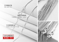 Wholesale Solid Gold Jewelry Wholesalers - New Fashion Arrival Silver White Gold Rose Gold Jewelry 925 Sterling Silver Pretty Cut Charm Rope Chain Necklace Jewelry Chain Solid