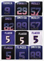 2017 MNE 5 Joe Flacco 9 Justin Tucker 55 Terrell Suggs Jersey Uomo 18 Breshad Perriman 57 C.J. Mosley 32 Eric Weddle Maglie