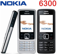Wholesale Cheapest Dual Camera Phones - Original Refurbished Phone Nokia 6300 Unlocked Cell Phone TFT, 16M colors Russian Keyboard English Keyboard Cheapest Phone