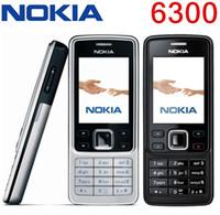 rusça cep telefonları toptan satış-Orijinal Yenilenmiş Telefon Nokia 6300 Unlocked Cep Telefonu TFT, 16 M renkler Rus Klavye İngilizce Klavye Ucuz Telefon