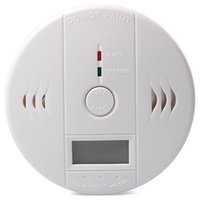 Wholesale 2015 Best CO Carbon Monoxide Poisoning Smoke Gas Sensor Warning Alarm Detector Tester LCD Security Sensor with retail box Factory Offer