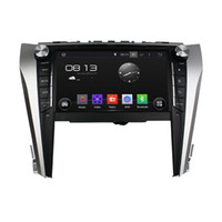 Wholesale android tv for camry online - 9 quot Android Car DVD Player for Toyota Camry with GPS Navigation Radio BT USB AUX WIFI Audio Stereo Core