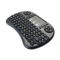 Wholesale wireless keyboard for phone - New 2.4G Mini USB Wireless Keyboard Touchpad & Air Fly Mouse Remote Control for Android Windows TV Box Smart Phone