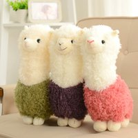 Wholesale Cutest Plush Animals - 35cm Alpaca Plush Toy Cutest Small Soft Toys Birthday Gifts Home Decoration For Small Stuffed Animal
