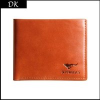 Wholesale 2015 Mens Brand Cowhide Wallet fashion hot Men s Genuine Leather short Wallets For men brand designer Purse Wallet Men Wallet top quality