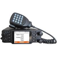 Wholesale dmr digital radios - 2016 Real DMR Digital Mobile Radio CDM-550H High Quality Powerful Car Ham radio Vehicle Mouted radio Compatible with Mototrbo HYT