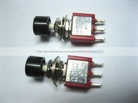 Wholesale 5a Push Switch - 24 x Momentary Black Push Button Switch 250V 2A 5A 3pin