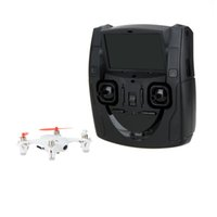 Wholesale hubsan quadcopter fpv - Original Hubsan X4 H107D Mini RC Quadcopter 5.8G FPV RTF 6 Axis System Drone with RC LCD Transmitter + FPV Camera order<$18no track