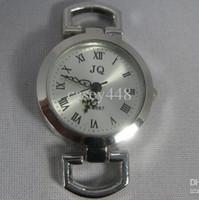 reloj pulsera de plata vintage al por mayor-JQ marca de plata reloj romano vintage dail Fit pulsera europea hecha a mano 100 unids / lote