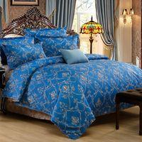 Wholesale Good Cartoon People - 2016 home textile good quality 4 pcs Jacquard bedding set Bed bed Sheet Quilt Duvet Covers PillowCase Bedclothes Bed Linen