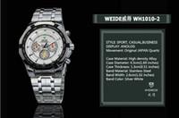 Wholesale Dive Watch Men For Military - 2017 New Top Sale! WEIDE Men's Sports Watch Japan Quartz Wristwatch Military Fashion & Casual Dive Watches for Men