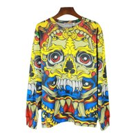Wholesale Galasy S - 3D Fashion New galasy Geometry animal cartoon double printed Autumn men hoody sportswear women hoodie pullover tracksuit