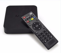 MXQ Android Tv Box Amlogic S805 Quad Core Google Android 4.4 Kitkat 1GB RAM 8GB ROM Suporte H.265 HDMI OTG RJ45 USB Smart Media Player