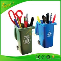 Wholesale Toy Trash Cans - Big Mouth Toys The Mini Curbside Trash holder and Recycle Can Se