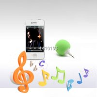 Wholesale Dock Mini Ball - Multi-Color Creative Wireless Mini Ball Speaker Balloon Mobile Audio Docks Cute Music Ball Player For iPhone for Samsung