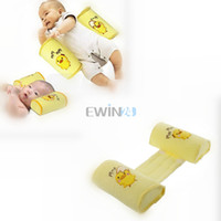 Wholesale Toddler Safe Pillows - Hot Selling! 2PCS Comfortable Cotton Anti Roll Pillow Baby Toddler Safe Cartoon Sleep Head Positioner Anti-rollover