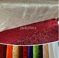 Sofa 100% Polyester yes New Arrival Rose Pattern Velvet Sofa Cover Multifunction DIY Fabric Pillowcase Cushion Cover Table Cloth Window Curtains Bedding Supplies