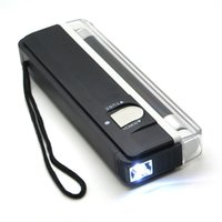 Wholesale Handheld Money Detector - 2in1 UV Light Torch Portable Currency Money ID Tickets Detector Tester Lamp Handheld Light Torch detect counterfeit money verify real money