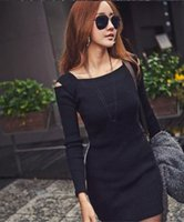 Wholesale Women Christmas Xmas Fashion Crew Neck Long Sleeve Knit Knitwear Sweater Dress