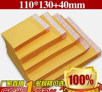 Wholesale Padded Gift Bag - kraft paper Envelopes Air Mail Air Bags Packing PE Bubble Cushioning Padded Envelopes gift Wrap newest 110mm*130mm 4.3*5.1inch drop shipping